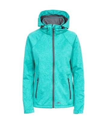 Trespass Womens/Ladies Angela Softshell Jacket (Ocean Green Marl) - UTTP4431