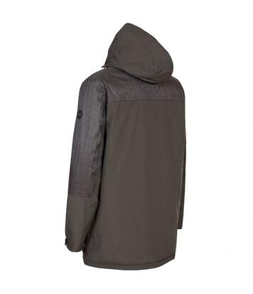 Trespass Mens Larken Waterproof DLX Jacket (Peat) - UTTP3287