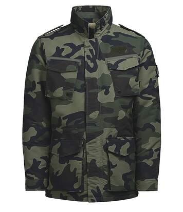 Veste army homme kaki camouflage