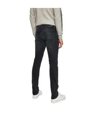 Jeans Regular Noir Homme Pepe Jeans Cash