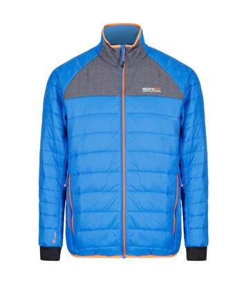 Regatta Mens Halton II Full Zip Jacket (Oxford Blue/Seal Grey) - UTRG3671
