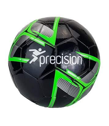 Precision - Ballon De Foot D'entraînement Fusion Midi (Vert fluo / Noir) - UTRD796