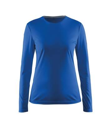 Craft Womens/Ladies Mind Long Sleeve T-Shirt (Swedish Blue) - UTRW6158