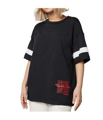 T-Shirt noir femme Converse Renew