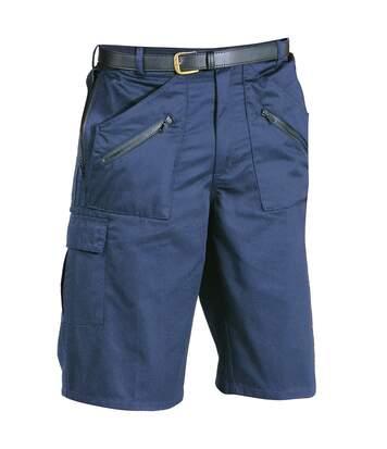 Portwest Mens Action Shorts (S889) (Dark Navy) - UTRW1009