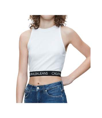 Crop top strech   -  Femme - Calvin klein
