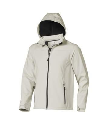 Elevate Mens Langley Softshell Jacket (Light Grey) - UTPF1907