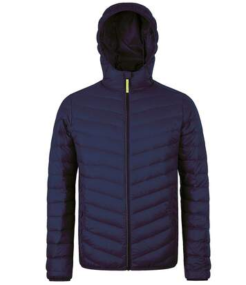 Doudoune légère à capuche duvet homme - 01620 - bleu marine