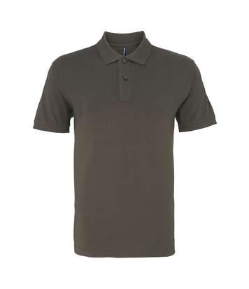 Asquith & Fox Mens Plain Short Sleeve Polo Shirt (White) - UTRW3471