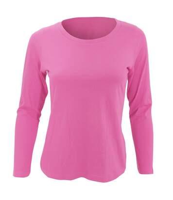 Sols Majestic - T-Shirt À Manches Longues - Femme (Rose) - UTPC314