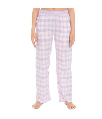 Forever Dreaming Womens/Ladies Check Lounge Pants (Pink) - UTUT976