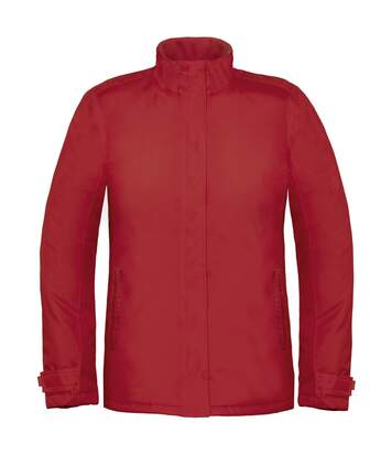 B&C Womens/Ladies Premium Real+ Windproof Waterproof Thermo-Isolated Jacket (Deep Red) - UTBC2003