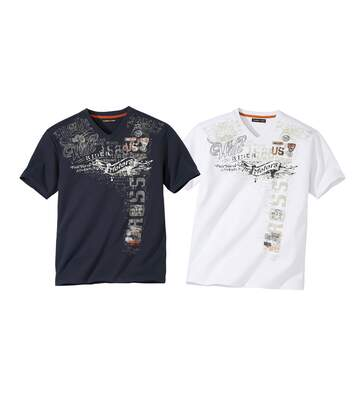 Súprava 2 tričiek Rider