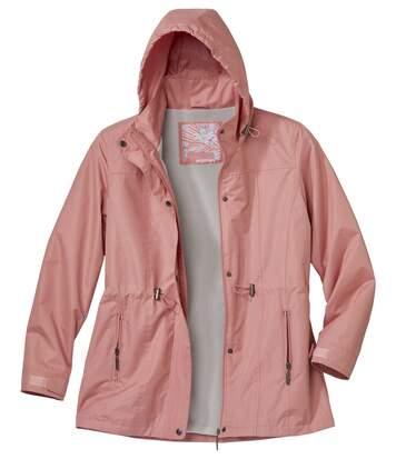 Women's Pink Windbreaker