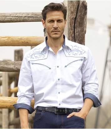 Рубашка из Поплина «Родео» от Atlas For Men