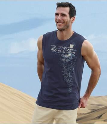 Zestaw 2 t-shirtów bezrękawów Wildscape
