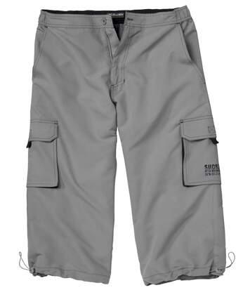Tříčtvrteční kalhoty z mikrovlákna Battle