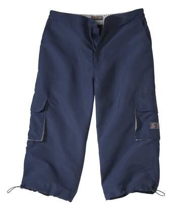 3/4 kalhoty Cargo z mikrovlákna