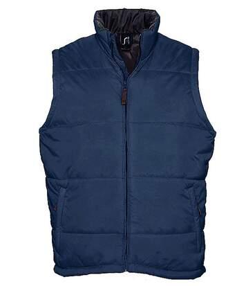 Doudoune veste sans manches matelassée - 44002 - bleu marine