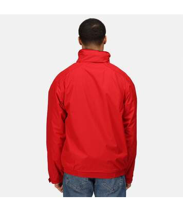 Regatta Dover Waterproof Windproof Jacket (Thermo-Guard Insulation) (Classic Red/Navy) - UTBC839