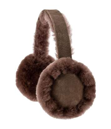 Eastern Counties Leather Womens/Ladies Luxury Sheepskin Earmuffs (Vole) (One size) - UTEL276