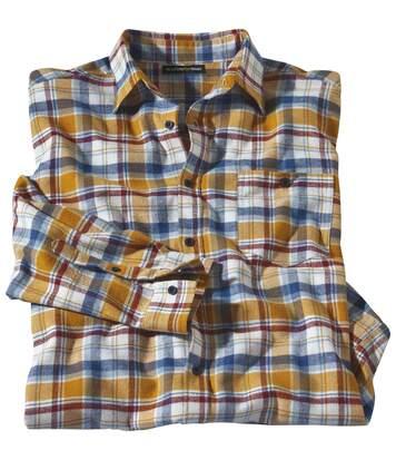 Kostkovaná flanelová košile Mississipi