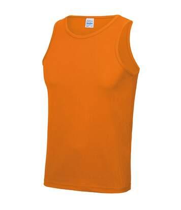 Just Cool Mens Sports Gym Plain Tank / Vest Top (Sapphire Blue) - UTRW687