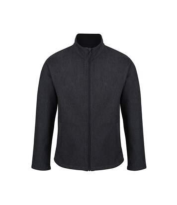 Regatta Mens Limestone Marl Soft Shell Jacket (Seal Grey Marl) - UTPC4102