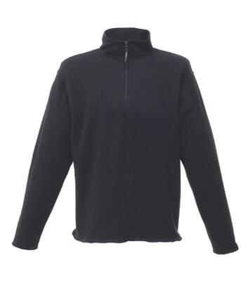 Regatta Mens Micro Zip Neck Fleece Top (Seal Grey) - UTRG1580