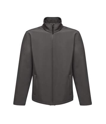 Regatta Reid Mens Softshell Wind Resistant Water Repellent Jacket (Seal Grey) - UTBC816