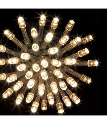 Feeric Christmas - Guirlande Lumineuse Intérieure et Extérieure 12 m 120 LED Blanc chaud et 8 jeux de lumière