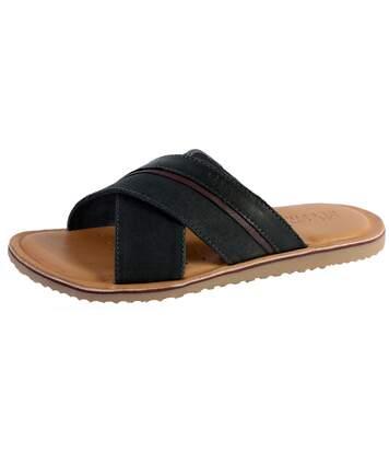 Sandale Geox U Artie B - Canv+Smooth Lea