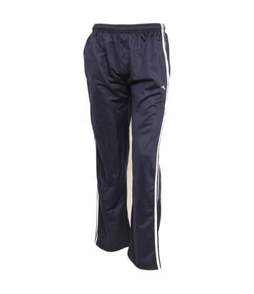 Mens Sportswear Tracksuit/Jogging Bottoms (Open Cuff) (Navy) - UTJ132