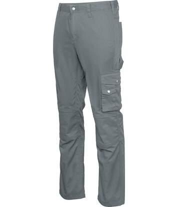 pantalon homme multipoches - travail - K795 - gris