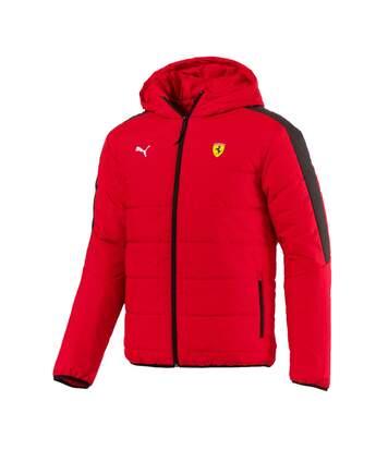 Blouson rouge homme Puma Scuderia Ferrari T7