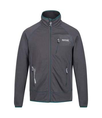 Regatta Mens Harva Full Zip Jacket (Rock Grey) - UTRG4176
