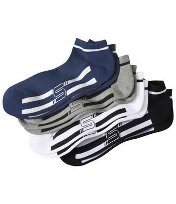Súprava 4 pánskych športových členkových ponožiek
