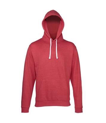 Awdis - Sweatshirt À Capuche - Homme (Rouge chiné) - UTRW168