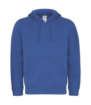 Sweat-shirt à capuche zippé - homme - WM647 - bleu roi