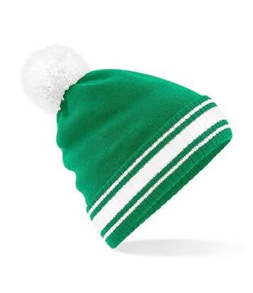 Bonnet stadium - Adulte - B472 - vert kelly et blanc
