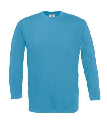 B&C Exact 150 Lsl - T-Shirt À Manches Longues - Homme (Bleu clair) - UTBC2010