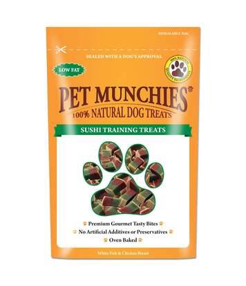 Pet Munchies - Friandises Naturelles Pour Chiens (Sushi) (50 g) - UTBT420