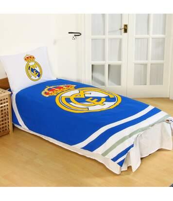 Real Madrid Cf - Ensemble De Lit (Bleu/blanc) - UTSI199