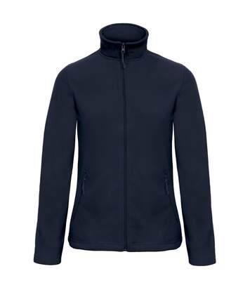 B&C Collection Womens/Ladies ID 501 Microfleece Jacket (Dark Grey) - UTRW3526