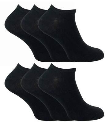 SOCK SNOB 6 Pk Mens Cotton / Trainer Socks