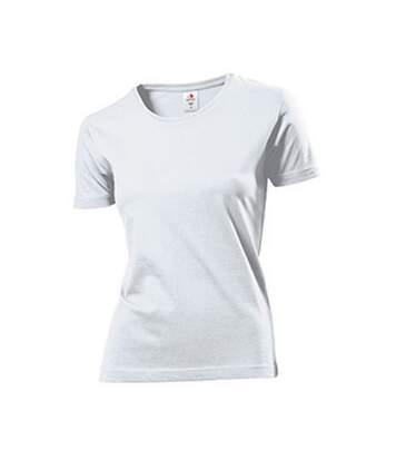 Stedman Womens/Ladies Comfort Tee (White) - UTAB274
