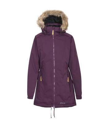 Trespass Womens/Ladies Celebrity Insulated Longer Length Parka Jacket (Potent Purple) - UTTP4190