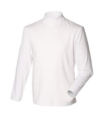 Henbury - Sweatshirt À Col Roulé - Homme (Blanc) - UTRW615