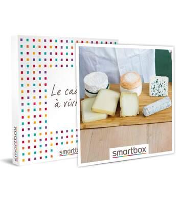 SMARTBOX - Atelier-dégustation de 2h de 6 fromages avec Le Cheese Geek à Paris - Coffret Cadeau Gastronomie