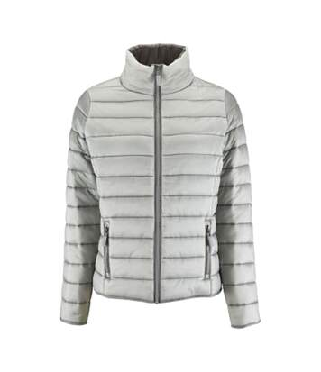 SOLS Womens/Ladies Ride Padded Water Repellent Jacket (Metal Grey) - UTPC2155